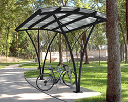 Bike Lockers & Shelters