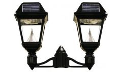 Solar Brite Double Head Solar Lamp