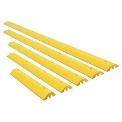 Safety Yellow Recycled Plastic Speed Bumps